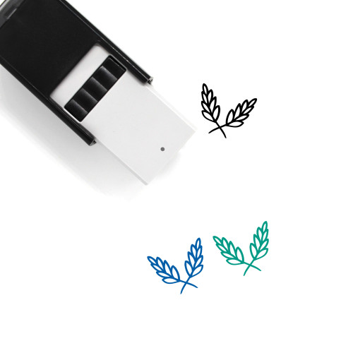Aromatic Herbs Self-Inking Rubber Stamp No. 9