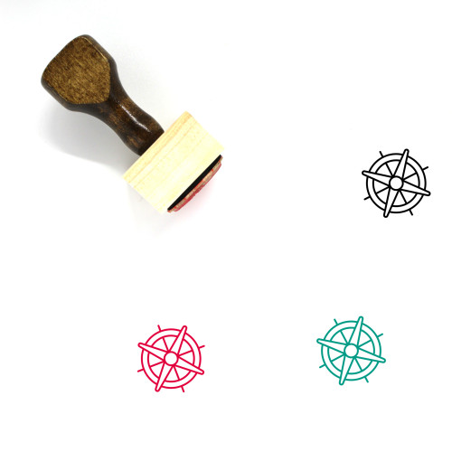 Nautical Wooden Rubber Stamp No. 17