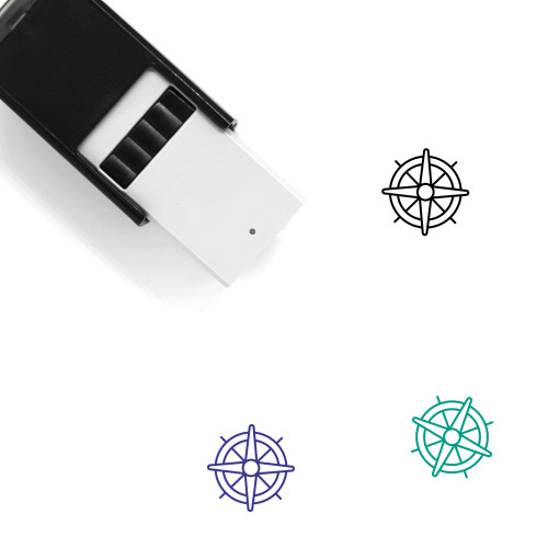 Nautical Self-Inking Rubber Stamp No. 17