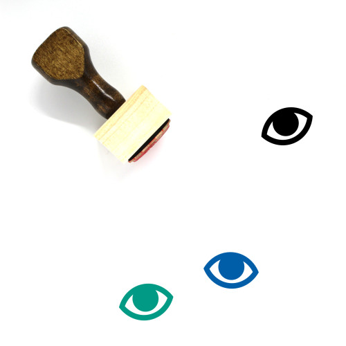 Eye Wooden Rubber Stamp No. 276
