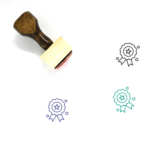 Holiday Wooden Rubber Stamp No. 39