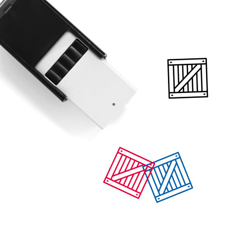 Crate Self-Inking Rubber Stamp No. 23