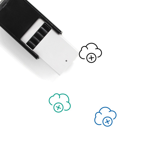 Add Cloud Self-Inking Rubber Stamp No. 11