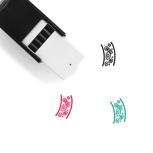 Blood Self-Inking Rubber Stamp No. 38