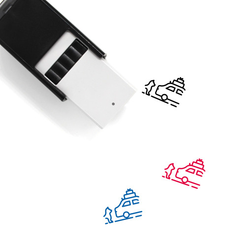 Abandon Self-Inking Rubber Stamp No. 1