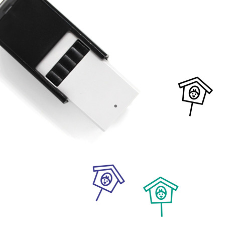 Birdhouse Self-Inking Rubber Stamp No. 5