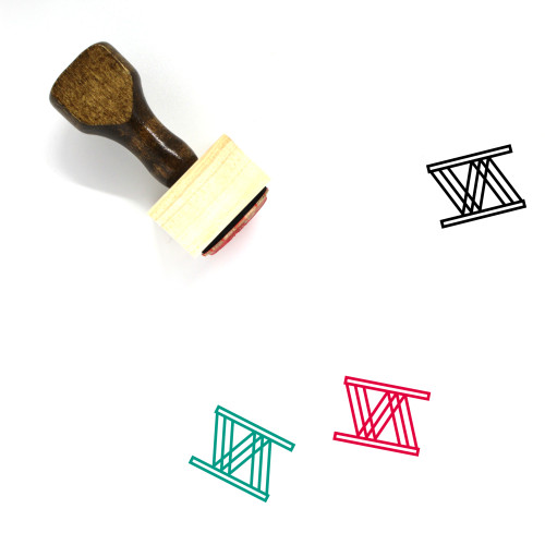 Ingenuity Wooden Rubber Stamp No. 4