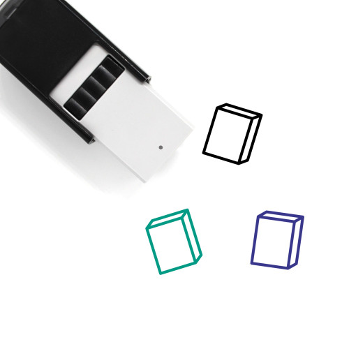 Box Self-Inking Rubber Stamp No. 108