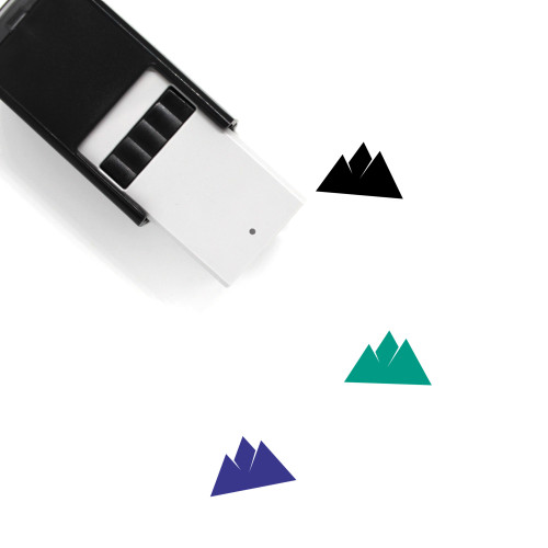 Mountains Self-Inking Rubber Stamp No. 3