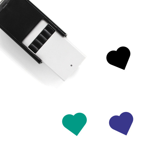 Heart Self-Inking Rubber Stamp No. 178