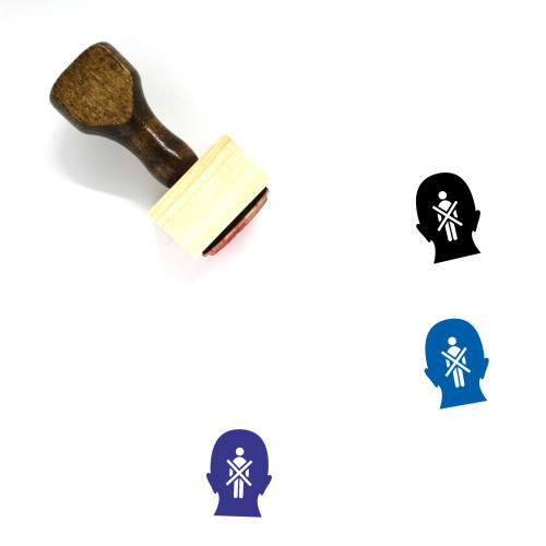 Prejudice Wooden Rubber Stamp No. 1