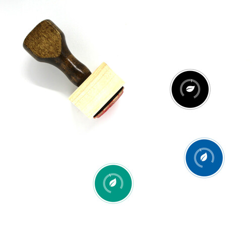 Nest Thermostat Wooden Rubber Stamp No. 3
