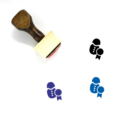 Promote Wooden Rubber Stamp No. 1