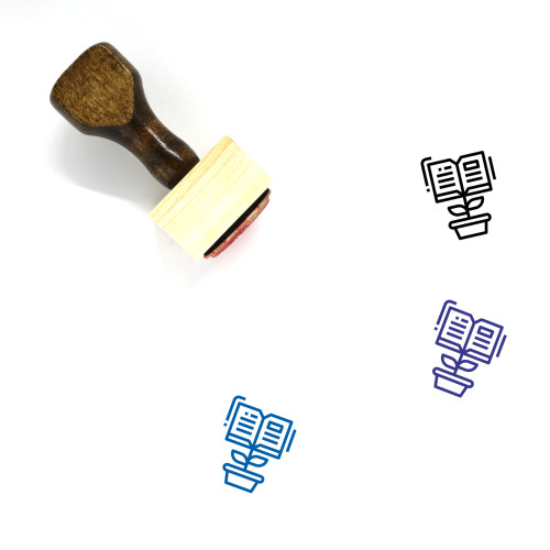 Creating Wooden Rubber Stamp No. 3