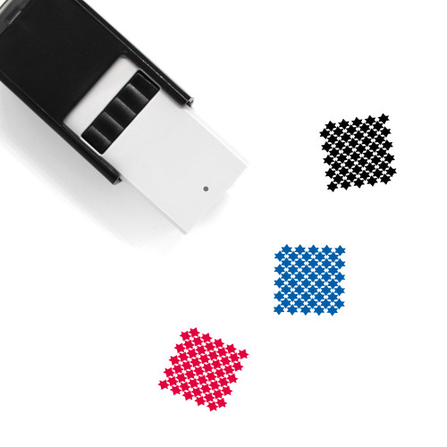 Pattern Self-Inking Rubber Stamp No. 120