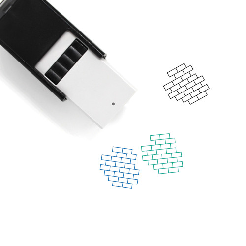 Wall Self-Inking Rubber Stamp No. 21