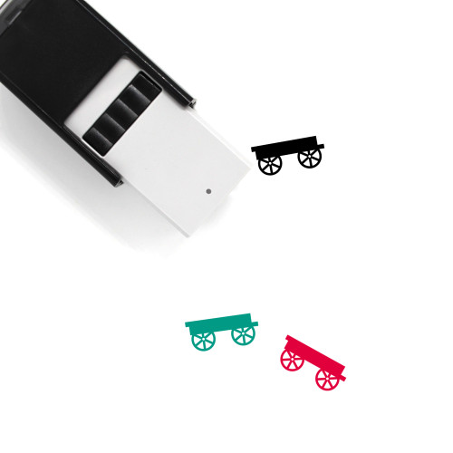 Wagon Self-Inking Rubber Stamp No. 42