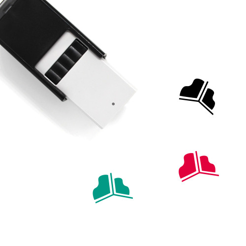 3D Graph Self-Inking Rubber Stamp No. 1