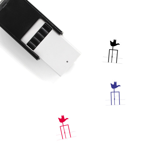 Open Hand Monument Self-Inking Rubber Stamp No. 3