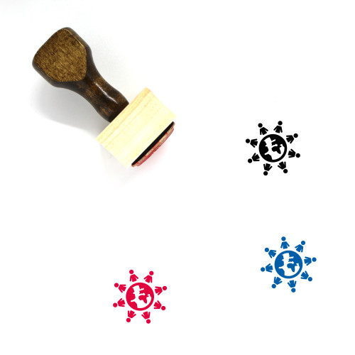 Citizens Wooden Rubber Stamp No. 4