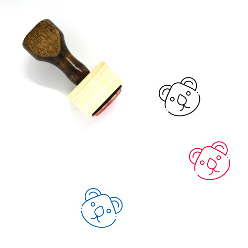 Animal Wooden Rubber Stamp No. 91