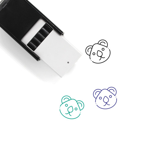 Animal Self-Inking Rubber Stamp No. 91