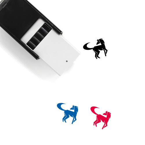 Horse Self-Inking Rubber Stamp No. 38