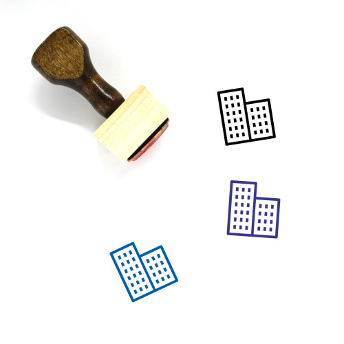 Office Wooden Rubber Stamp No. 51