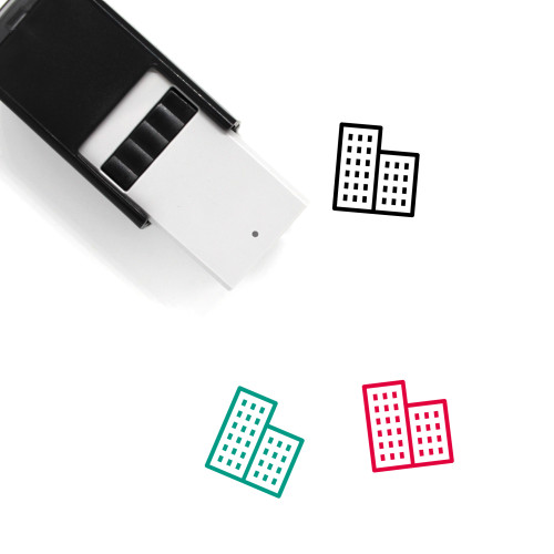 Office Self-Inking Rubber Stamp No. 51