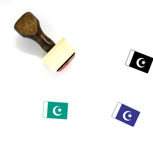 Pakistan Wooden Rubber Stamp No. 8