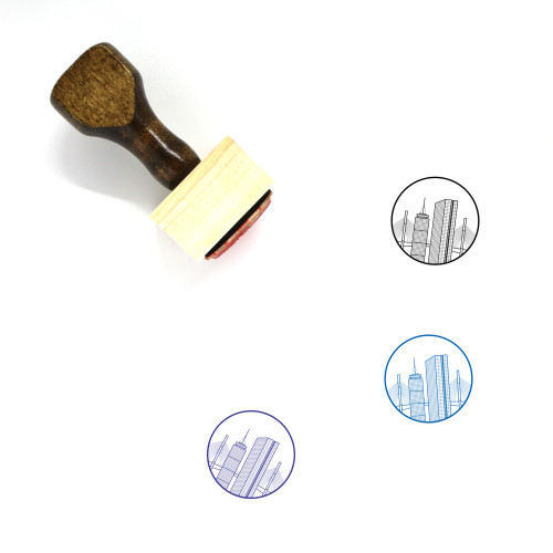 Boston Wooden Rubber Stamp No. 3