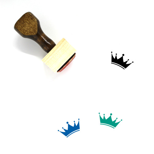 King Wooden Rubber Stamp No. 337