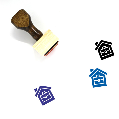 Freelancing Wooden Rubber Stamp No. 1