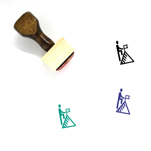 ACHIEVE Wooden Rubber Stamp No. 1