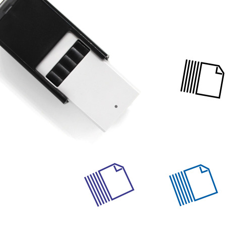 Paper Self-Inking Rubber Stamp No. 88