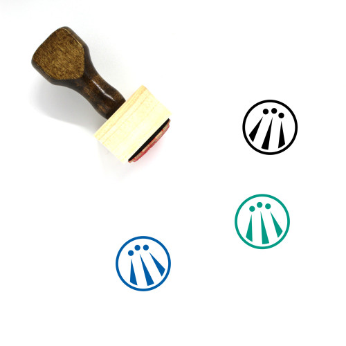 Awen Wooden Rubber Stamp No. 1