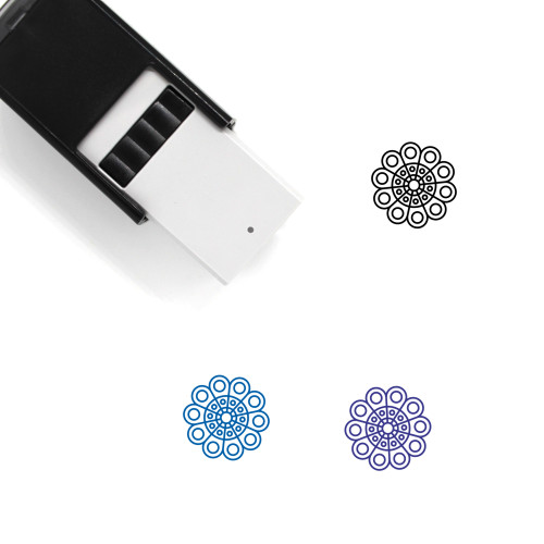 Doily Self-Inking Rubber Stamp No. 4
