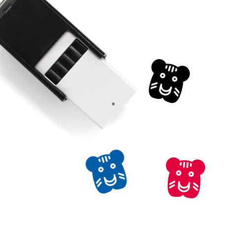 Tiger Self-Inking Rubber Stamp No. 17
