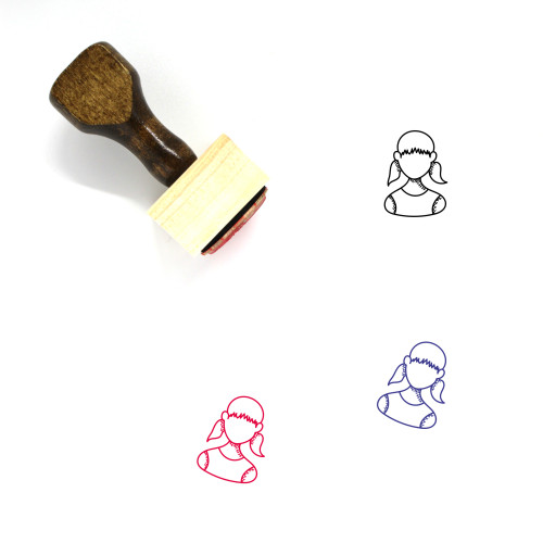 Student Wooden Rubber Stamp No. 65