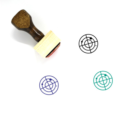 Benchmark Wooden Rubber Stamp No. 5