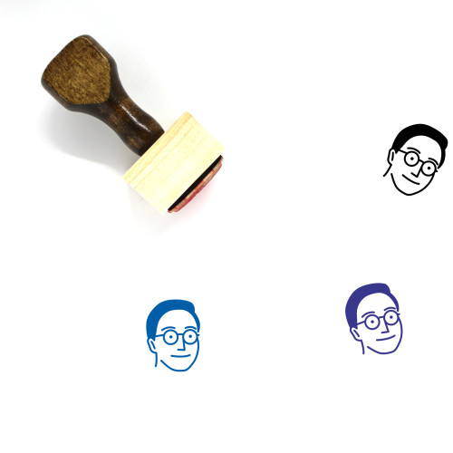 Persona Wooden Rubber Stamp No. 30
