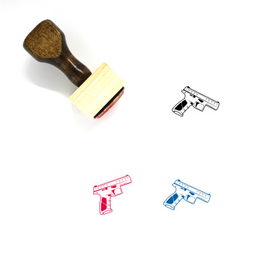 Beretta APX Wooden Rubber Stamp No. 2