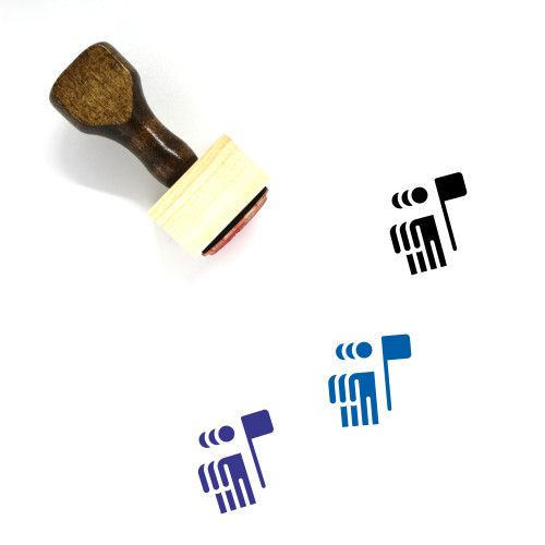 Union Wooden Rubber Stamp No. 16