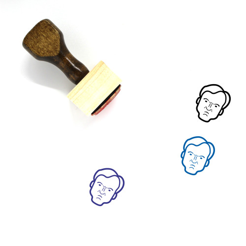 Quentin Tarantino Wooden Rubber Stamp No. 1