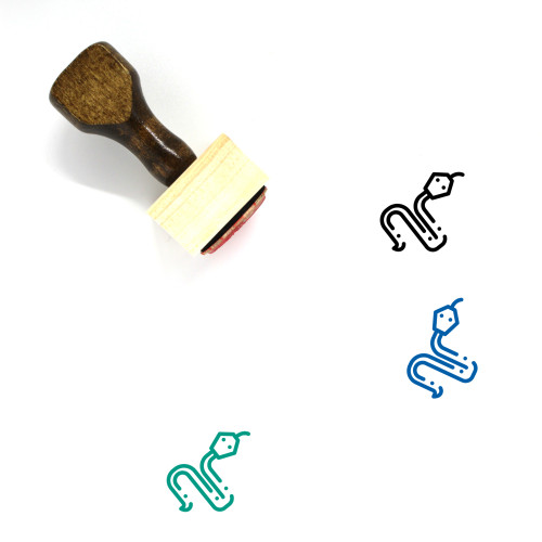 Animal Wooden Rubber Stamp No. 101