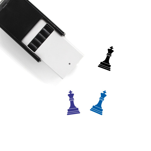 Chess King Self-Inking Rubber Stamp No. 1