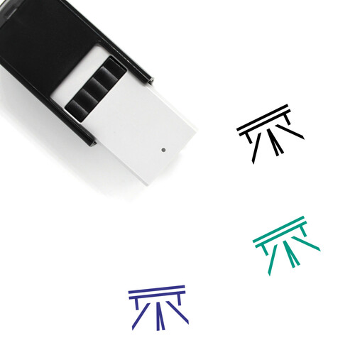 Road Self-Inking Rubber Stamp No. 57