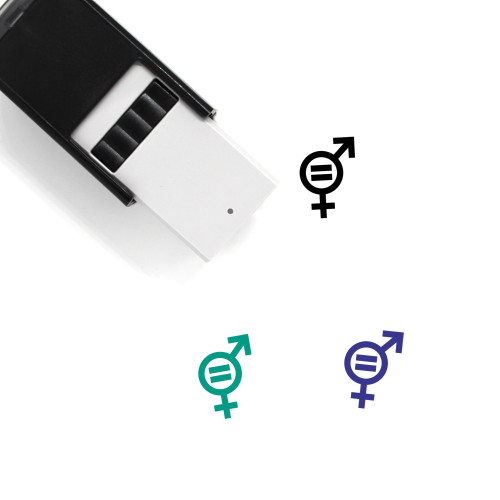 Gender Equality Self-Inking Rubber Stamp No. 28