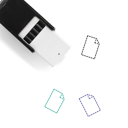 Not Found Self-Inking Rubber Stamp No. 12