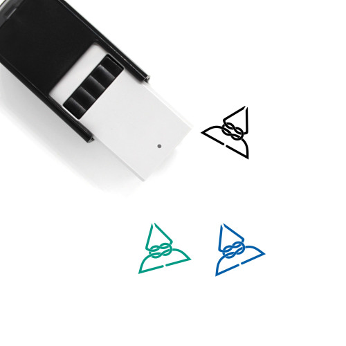 Rope Knot Self-Inking Rubber Stamp No. 3